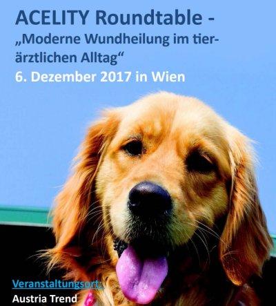 """Acelity Roundtable """"Moderne Wundheilung im tierärztlichen Alltag"""""""