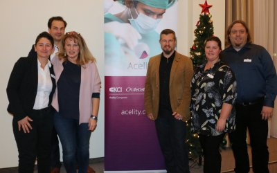 Acelity Team beim Wundheilungsroundtable