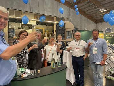 Das PowerVet-Team bei der VET AUSTRIA 2021