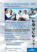 Bayer Doktorandenförderung 2009