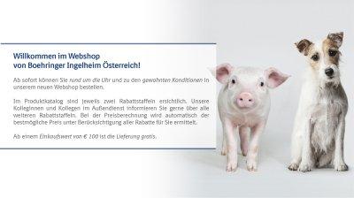 Boehringer Ingelheim Webshop