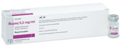 Bupaq 0,3 mg/ml Injektionslösung für Hunde und Katzen