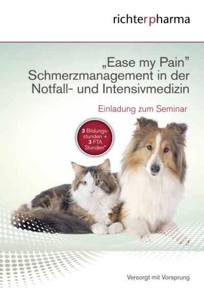 Richter Pharma Roadshow zum Thema Schmerzmanagement