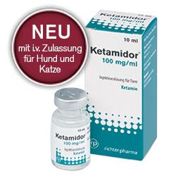 Ketamidor® - Injektionslösung für Tiere