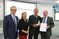 Richter Pharma AG feiert 100-jähriges Bestehen mit DNA Event; Bildquelle: Richter Pharma AG/APA-Fotoservice/Hartl