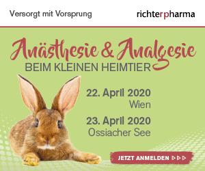 Seminar: Anästhesie & Analgesie beim kleinen Heimtier