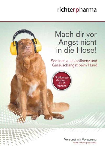 Seminar zum Thema Inkontinenz und Geräuschangst beim Hund