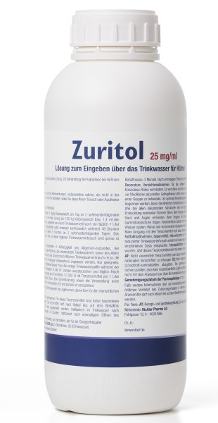 Zuritol 25 mg/ml