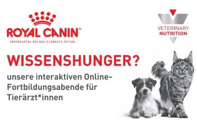 Jetzt neu: Interaktive Online-Fortbildungen für Tierärzt*Innen von Royal Canin