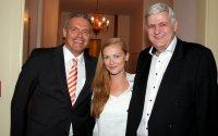 Wolfgang Weyres, Michaela Klager und Jürgen Faschingleitner von Zoetis Österreich