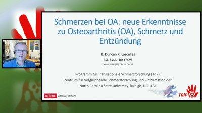 Webinar zum Management von Osteoarthritis-Schmerzen - online hier verfügbar!