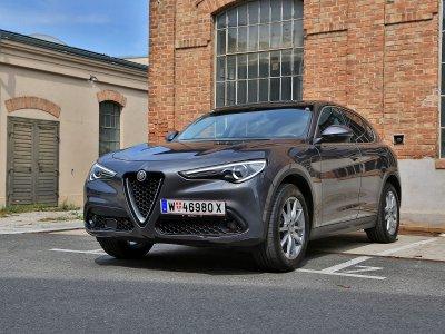 Alfa Romeo Stelvio; Bildquelle: auto-motor.at/Stefan Gruber