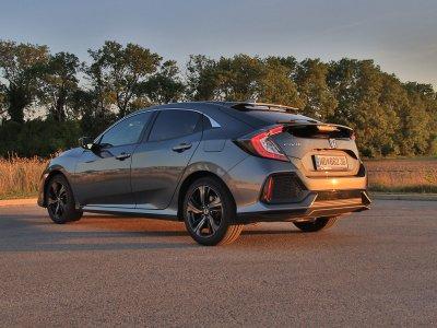 Der neue Honda Civic; Bildquelle: auto-motor.at/Stefan Gruber