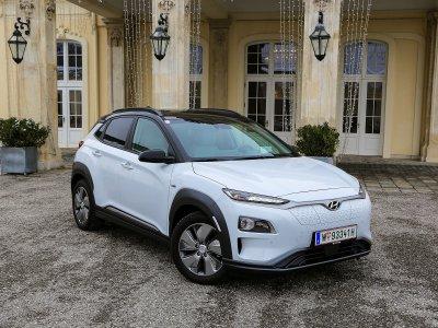 Hyundai Kona Elektro; Bildquelle: auto-motor.at/Stefan Gruber