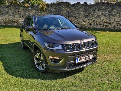 Der neue Jeep Compass; Bildquelle: auto-motor.at/Stefan Gruber