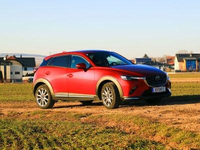 Mazda CX-3; Bildquelle: auto-motor.at/Rainer Lustig