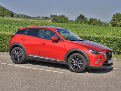 Mazda CX-3; Bildquelle: auto-motor.at/Stefan Gruber