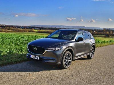 Der neue Mazda CX-5; Bildquelle: auto-motor.at/Stefan Gruber