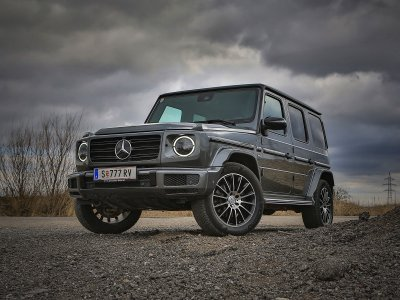 Mercedes G 500; Bildquelle: auto-motor.at/Stefan Gruber