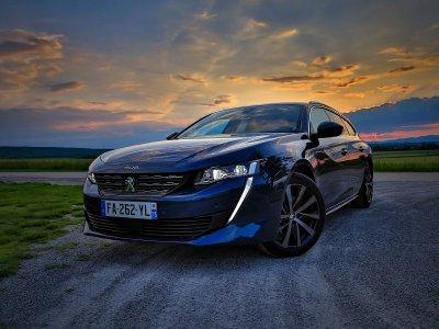 Der neue Peugeot 508 SW im Test; Bildquelle: auto-motor.at/Stefan Gruber