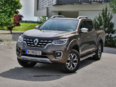 Renault Alaskan; Bildquelle: auto-motor.at/Stefan Gruber