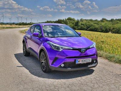 Toyota C-HR Hybrid; Bildquelle: auto-motor.at/Stefan Gruber