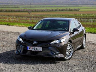 Toyota Camry 2,5 Hybrid Lounge – Testbericht; Bildquelle: auto-motor.at/Stefan Gruber