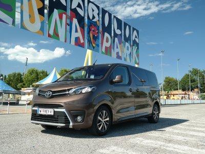 Toyota Proace Verso Family; Bildquelle: auto-motor.at, Corina Lustig