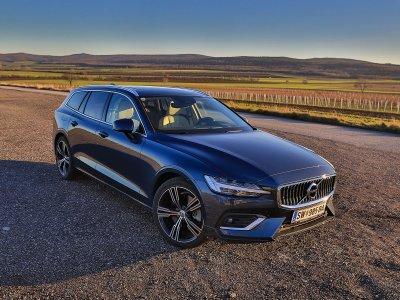 Der neue Volvo V60; Bildquelle: auto-motor.at/Stefan Gruber