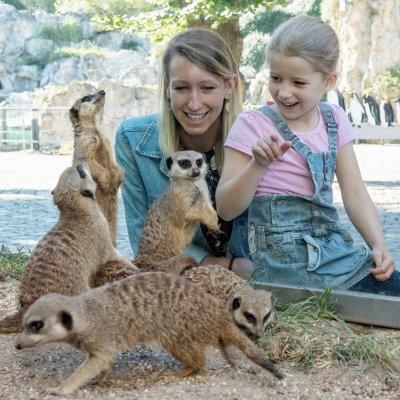 Zoos erfreuen sich in Österreich großer Beliebtheit; Bildquelle: Daniel Zupanc