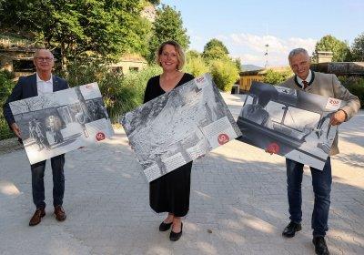 Christian Stöckl, Sabine Grebner und Josef Schöchl; Bildquelle: Franz Neumayr