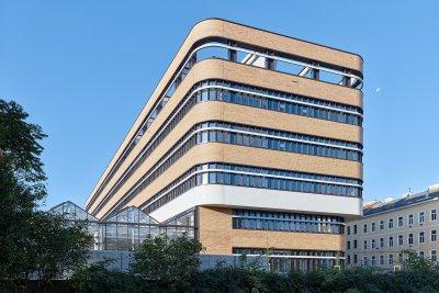 University of Vienna Biology Building; Bildquelle: Bruno Klomfar