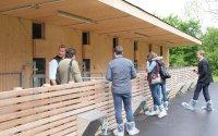 Energieoptimierter Bio-Abferkelstall; Bildquelle: HBLFA Raumberg-Gumpenstein