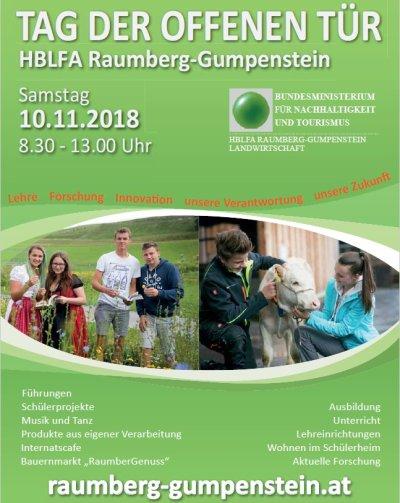 Tag der offenen Tür im LFZ Raumberg-Gumpenstein