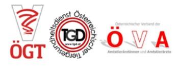 ÖGT Sektion Aquatische Tiere - Österreichischer Tiergesundheitsdienst ÖTGD - Österreichischer Verband von Amtstierärztinnen und Amtstierärzten (ÖVA)