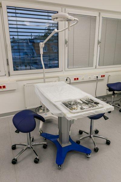 OP-Saal im 'thv - Internationales Trainingscenter für Human- und Veterinärmedizin'; Bildquelle: thv/Brandlmedien