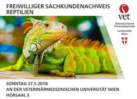 Freiwilliger Sachkundenachweis für Reptilien