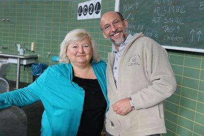 Dr. Sabine Mai und Dr. Manfred Hochleitner