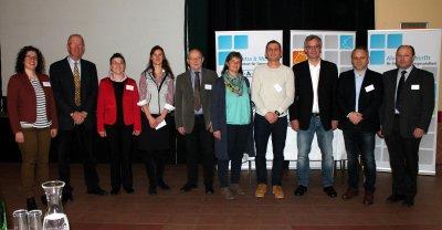 Vortragende und Organisatoren der Neujahrstagung 2018; Bildquelle: TGD Burgenland