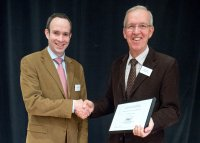 PD Dr. Lorenz Khol und Univ. Prof. Dr. Dr.h.c. Walter Baumgartner; Bildquelle: ÖBG