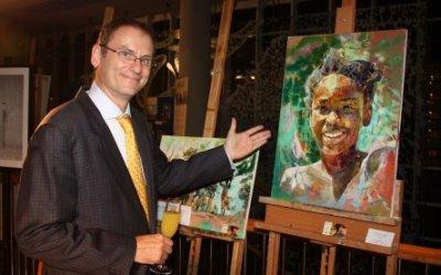 Dr. Otto Fischer am Benefizabend 'Nacht der Kinder 2013'