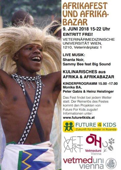 Afrikafest und Afrikabasar für den Verein future4kids