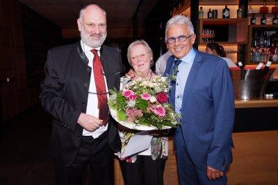 Klaus Dreier Ehrenmedaille an Dr. Margarethe Haschka