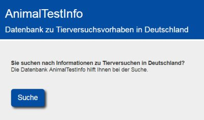 Datenbank AnimalTestInfo